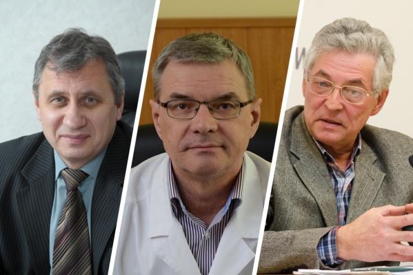 Слева направо — Виктор Дорогань, Алексей Бухтияров и Владимир Ярохно