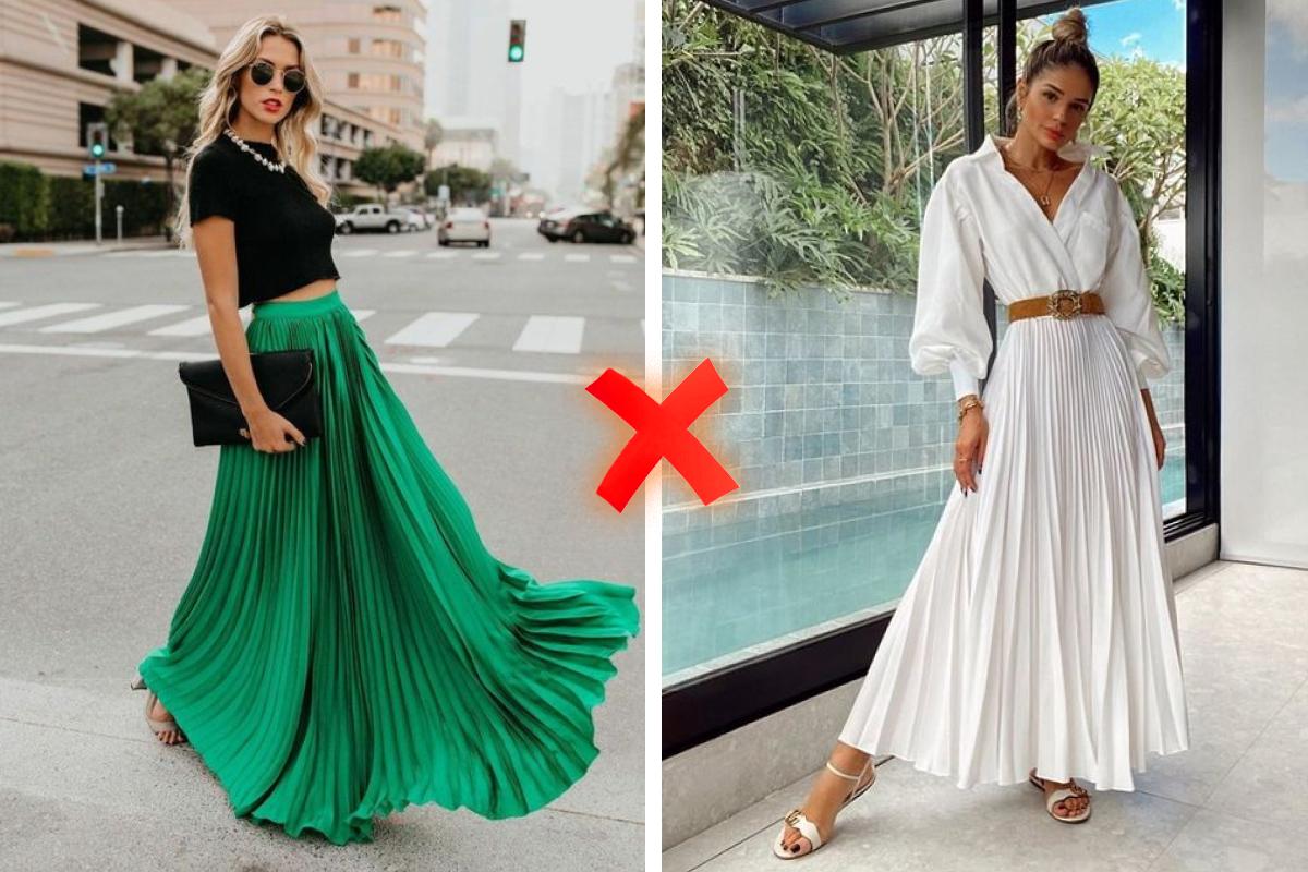 Советуем заменить юбку макси на миди — так будет актуальнее, красивее и безопаснее