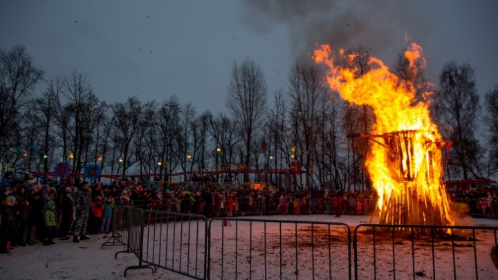 Да гори оно всё: где и когда в Ярославле будут сжигать Масленицу