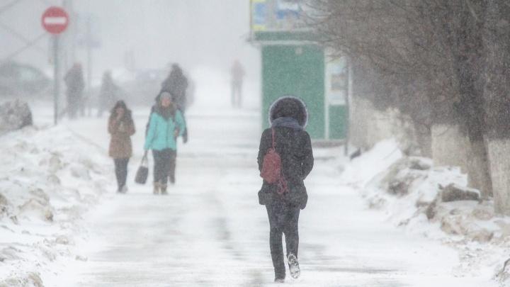 В Самарской области снова ожидается снег