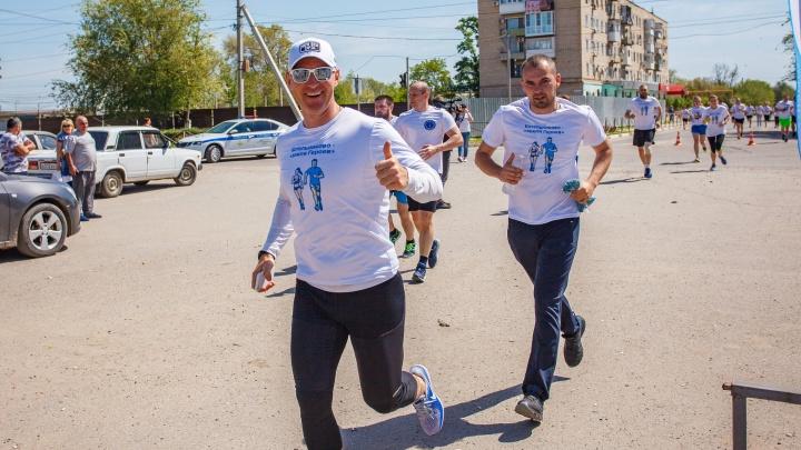 Олимпийский чемпион Максим Опалев дал старт доброму делу «ЕвроХим-ВолгаКалия»