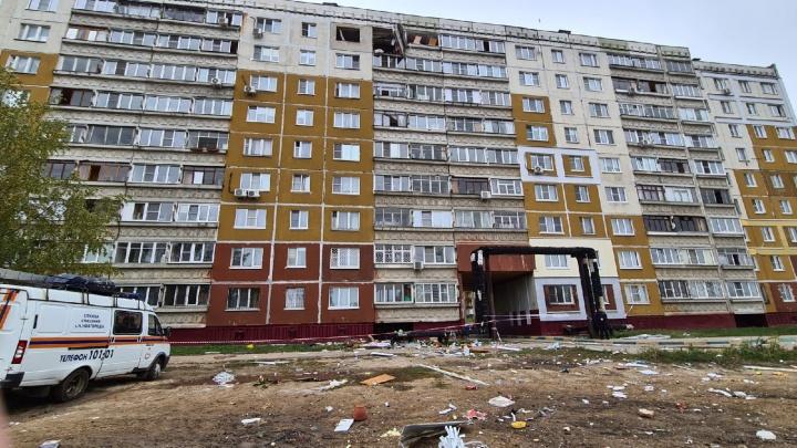 Взрыв газа в Автозаводском районе. Онлайн-трансляция с места ЧП