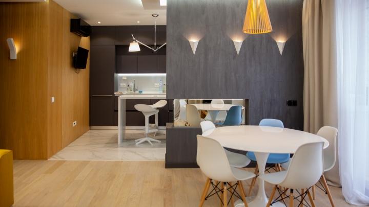 Панорамный вид на Тюмень, дизайнерский ремонт: что еще есть внутри квартиры нефтяника за 12 миллионов