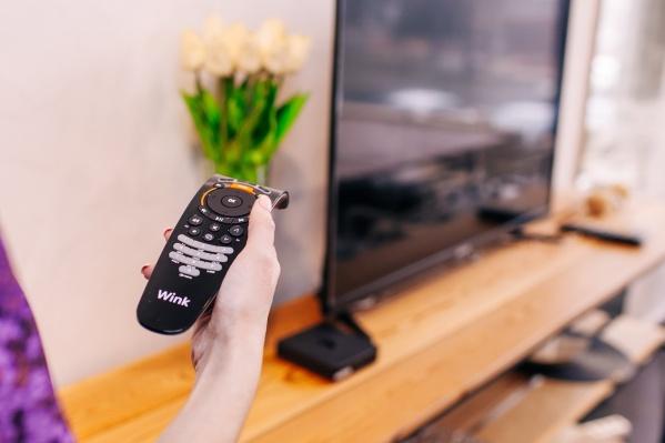 Wink можно просматривать на телевизоре, планшете и телефоне, а также подключить к своему аккаунту до семи различных устройств