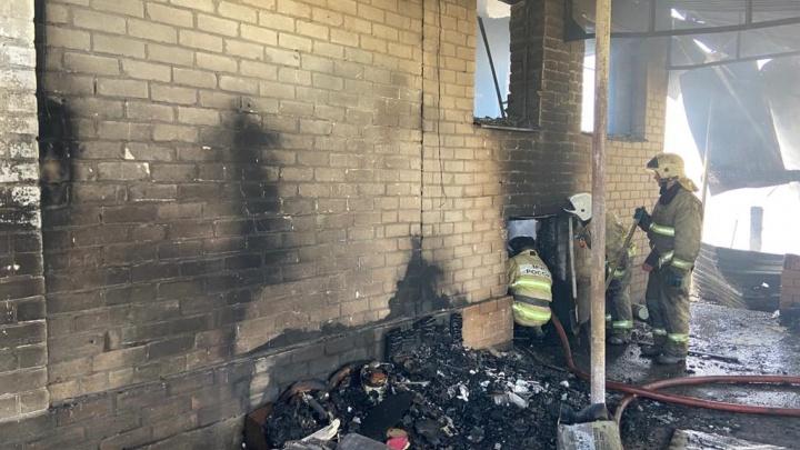 В Самарской области на крупном пожаре нашли двух мертвых женщин