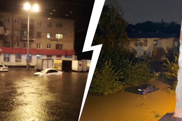 По затопленным улицам было ни пройти ни проехать