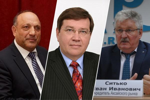 Слева направо: Карим Бабаев, Виталий Борзенко, Иван Ситько