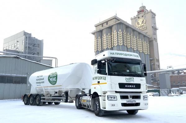 Вопрос о переводе транспорта ООО «Союзпищепром» на экологически чистое газомоторное топливо — это часть общей стратегии предприятия