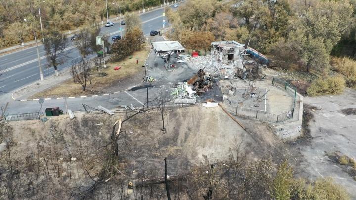 Ростехнадзор назвал причину взрыва на газовой заправке в Волгограде