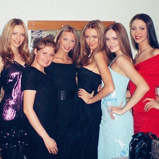 Подруги модели — не менее яркие девушки. Согласны?