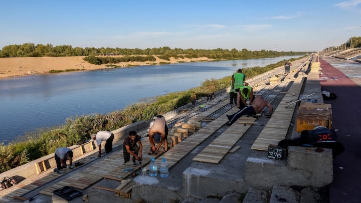 Заброшенная «бетонка». Смотрим, как благоустраивают Гребной канал в Нижнем Новгороде