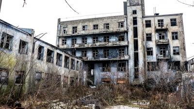 Забытое наследие. Заброшенный «Дом чекиста» загорелся в Нижнем Новгороде