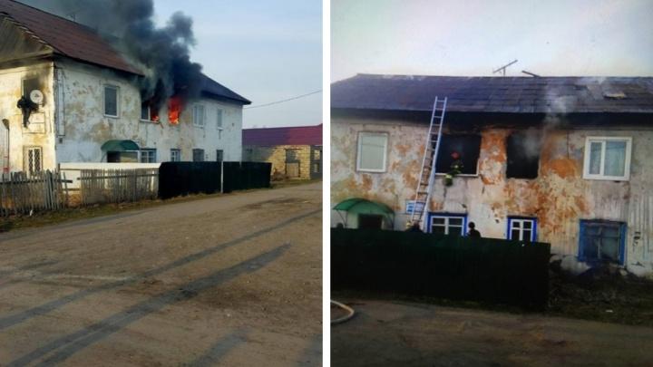 В ночном пожаре в Хакасии погибли трое маленьких детей