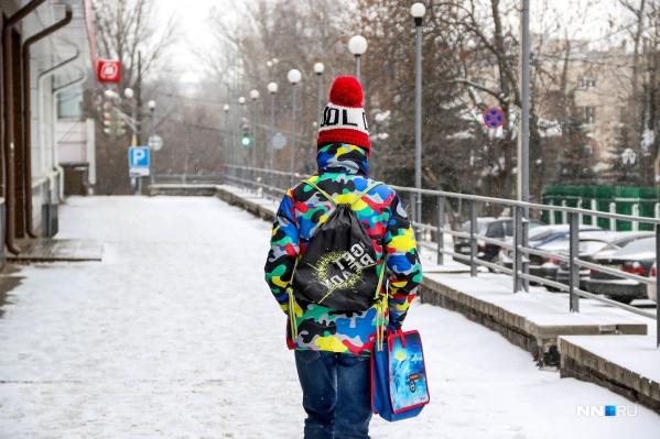 """В первую рабочую неделю года нижегородцев ждет похолодание до <nobr class=""""_"""">-32 °С</nobr>"""