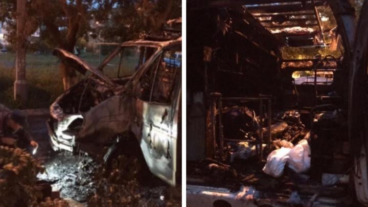 «Успели выкинуть два кислородных баллона»: стали известны подробности пожара в машине скорой