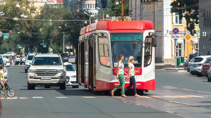В Самаре сократили количество трамваев