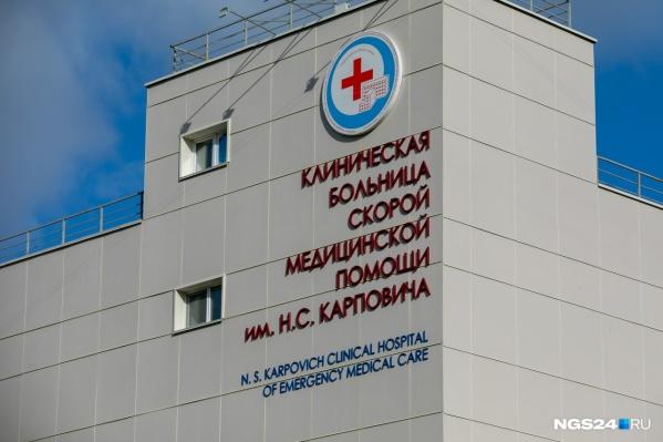 Мужчина попал в ковидный госпиталь в начале июля