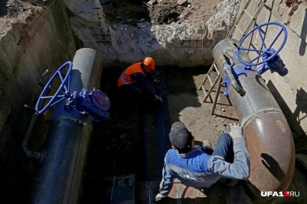 Ограничения связаны с ремонтными работами