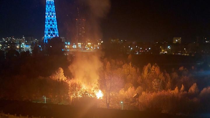 Ночью в Перми загорелся Сад соловьев