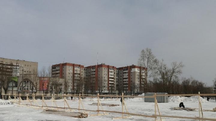 В Северодвинске приступили к строительству парка по проекту «Квартал 100»