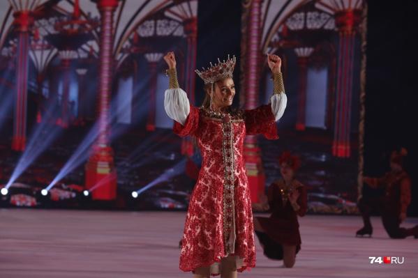 Татьяна Навка привезла в Челябинск мировую премьеру мюзикла на льду