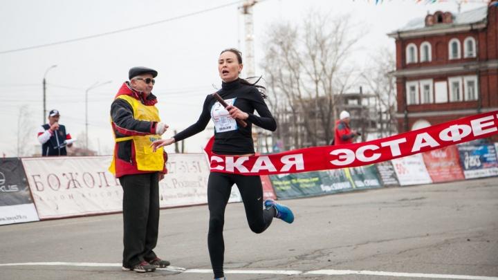 Из-за майской эстафеты в Архангельске на четыре часа перекроют для проезда центральные улицы