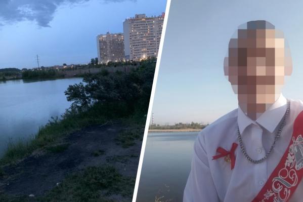 Подросток утонул на глазах своих друзей, купаясь в озере