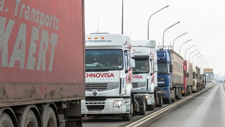 Движение на трассе М-5 в Самарской области открыли длягрузовиков