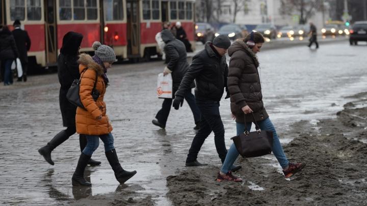 Синоптики рассказали, когда в Екатеринбург придет оттепель