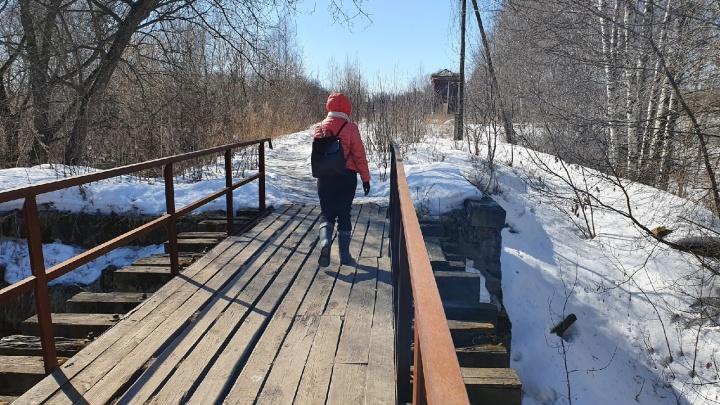 Содержать невыгодно: в Ярославле железнодорожники решили снести мост. Люди против