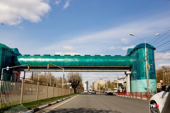 Надземные переходы, как на Московском проспекте, могут появиться и в Брагино в Ярославле