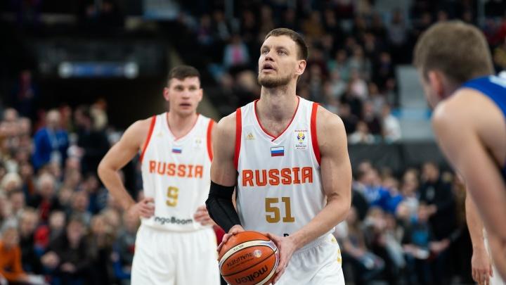 В Перми сборная России обыграла команду Северной Македонии и завоевала путевку на Евробаскет-2022