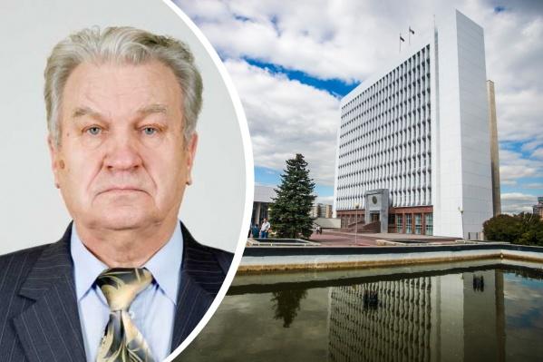 Вячеслав Журавлев 10 лет был депутатом Заксобрания