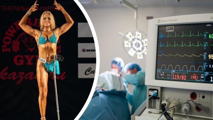 Потеряла ногу и... вышла в купальнике на сцену: история чемпионки, которая победила рак и предрассудки