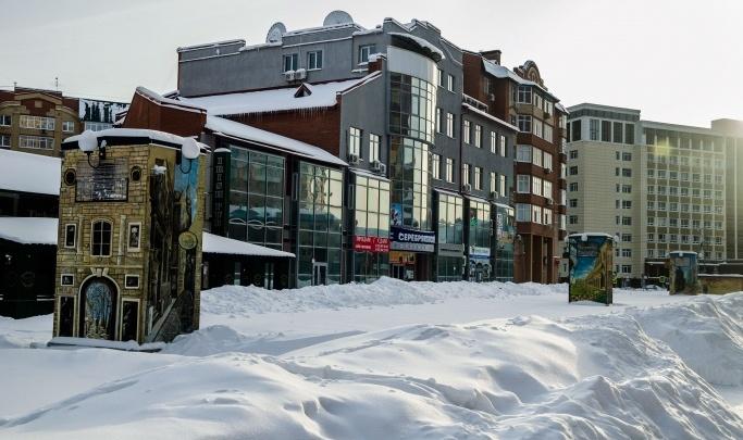 Надо Варламову приехать? Тюменка снова просит власти помочь с уборкой снега на Литературном бульваре