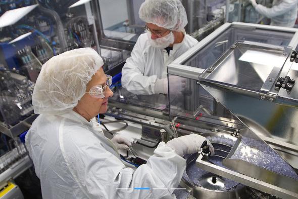 В Самарской области открыли новый завод
