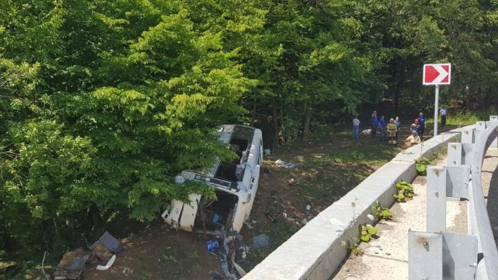 Стали известны подробности о пострадавших в ДТП с автобусом на Кубани