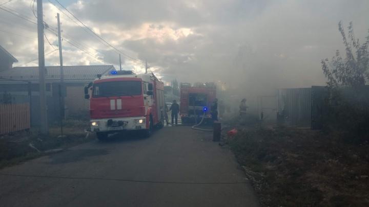 В поселке под Челябинском сгорели два дома