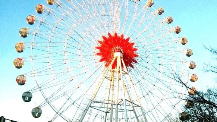 Выиграй билеты на самое высокое колесо обозрения в Краснодаре - 52 метров над уровнем города