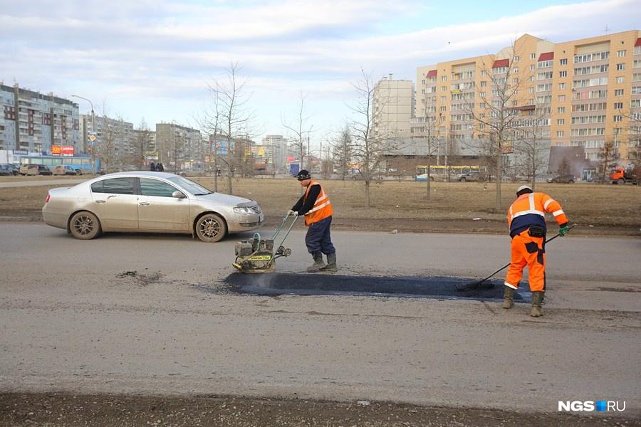 Красноярские дорожно-ремонтные учреждения готовятся кпервому этапу ремонтных работ