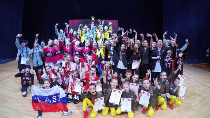 Школьники привезли «золото» с двух чемпионатов России по хип-хопу