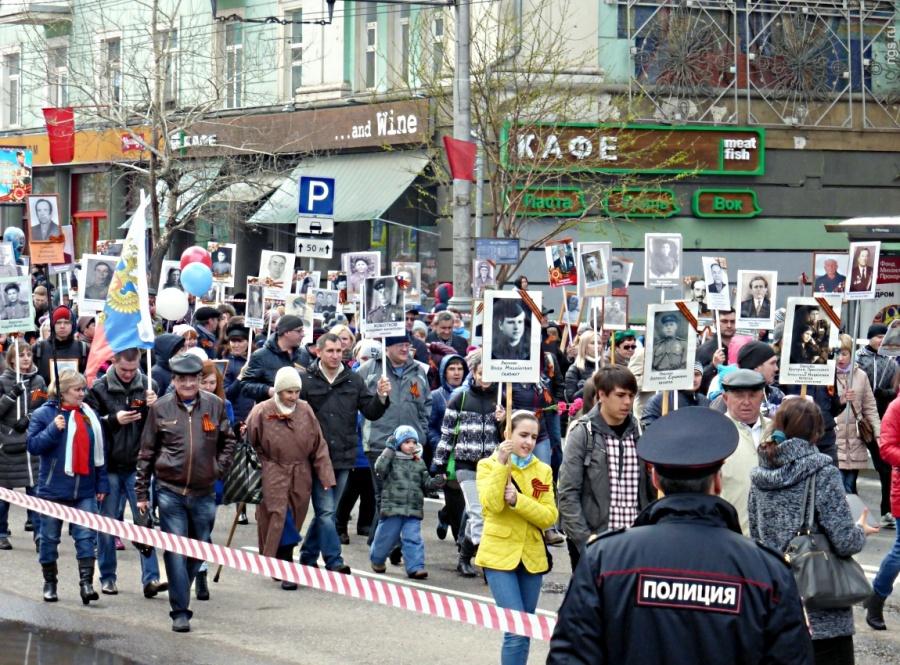 Мая «Бессмертный полк» вновь промарширует поКрасноярску