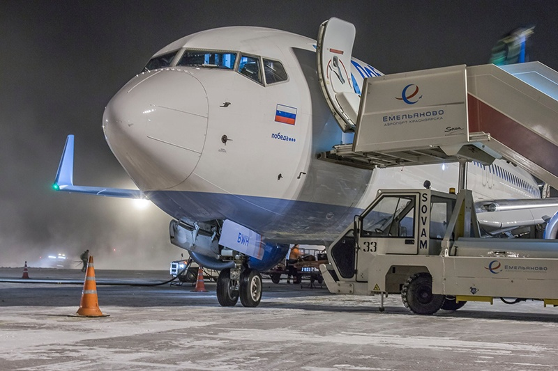 1-ый самолет втурецкую Анталью улетел изКрасноярска полным