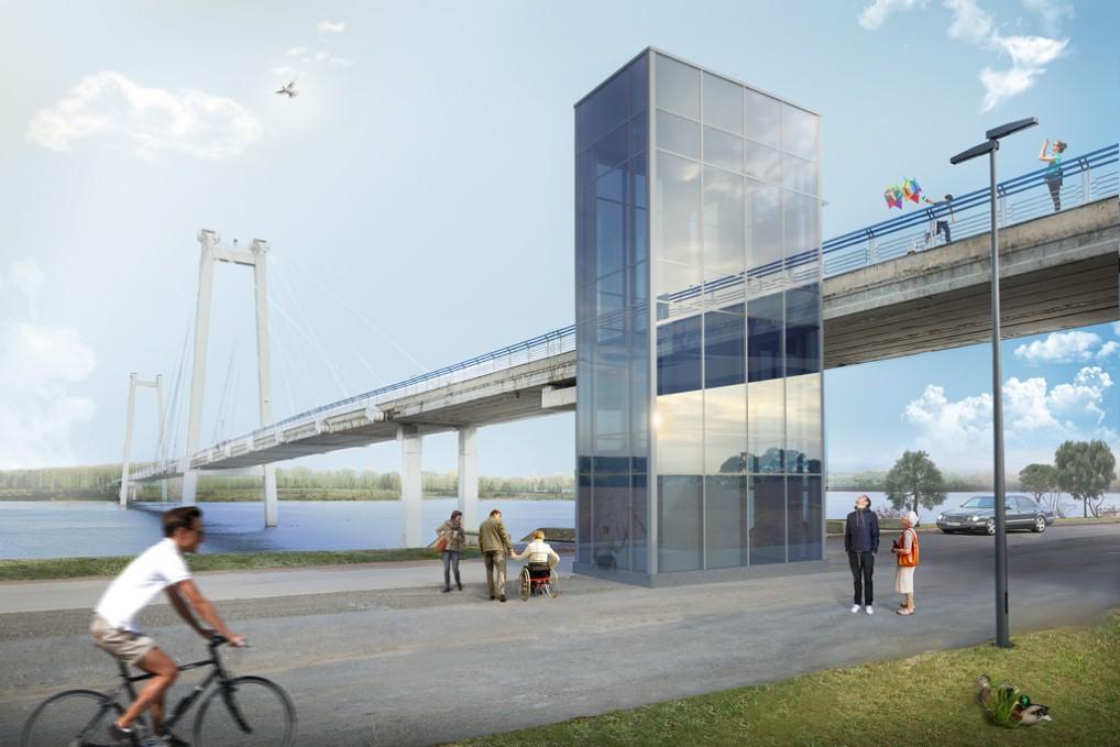 фото моста енисей
