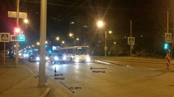 «Спросил о самочувствии и уехал»: водитель на Металлургов сбил девушку