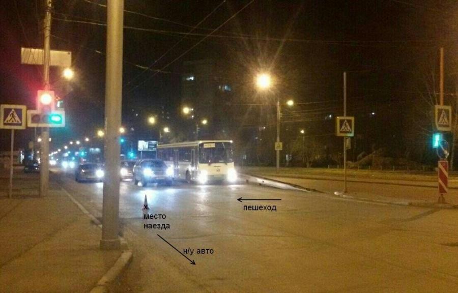 ВКрасноярске днем автолюбитель сбил девушку напереходе иуехал: разыскивают полицейские