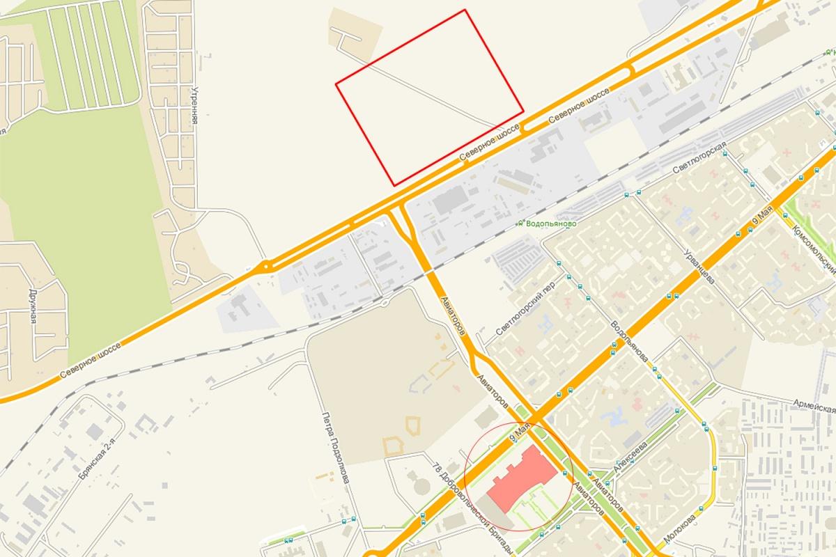 Строительство гипермаркета ИКЕА вКрасноярске оценили в9 млрд руб.