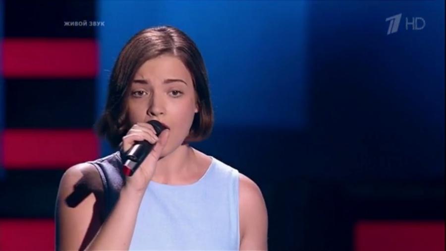 Победительница 5-го сезона шоу Голос Дарья Антонюк