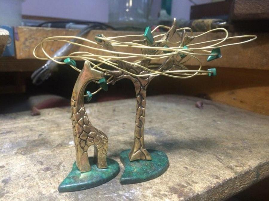 Жираф излатуни признан лучшим украшением Сибири