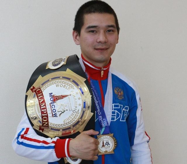Красноярский спортсмен Дмитрий Казыгашев стал чемпионом мира порукопашному бою